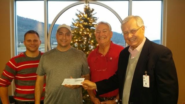 Tioga Downs Casino donates over $3,000 to continue Bandera Family Christmas Dinner event