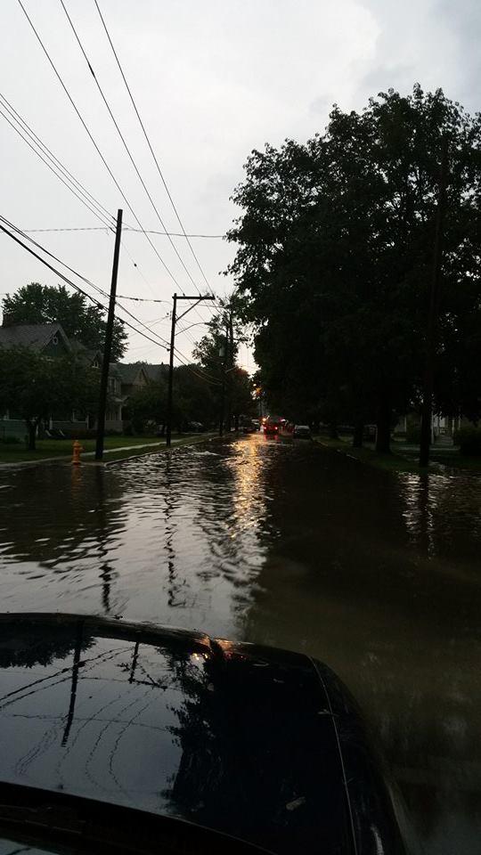 Storm Damage in Owego