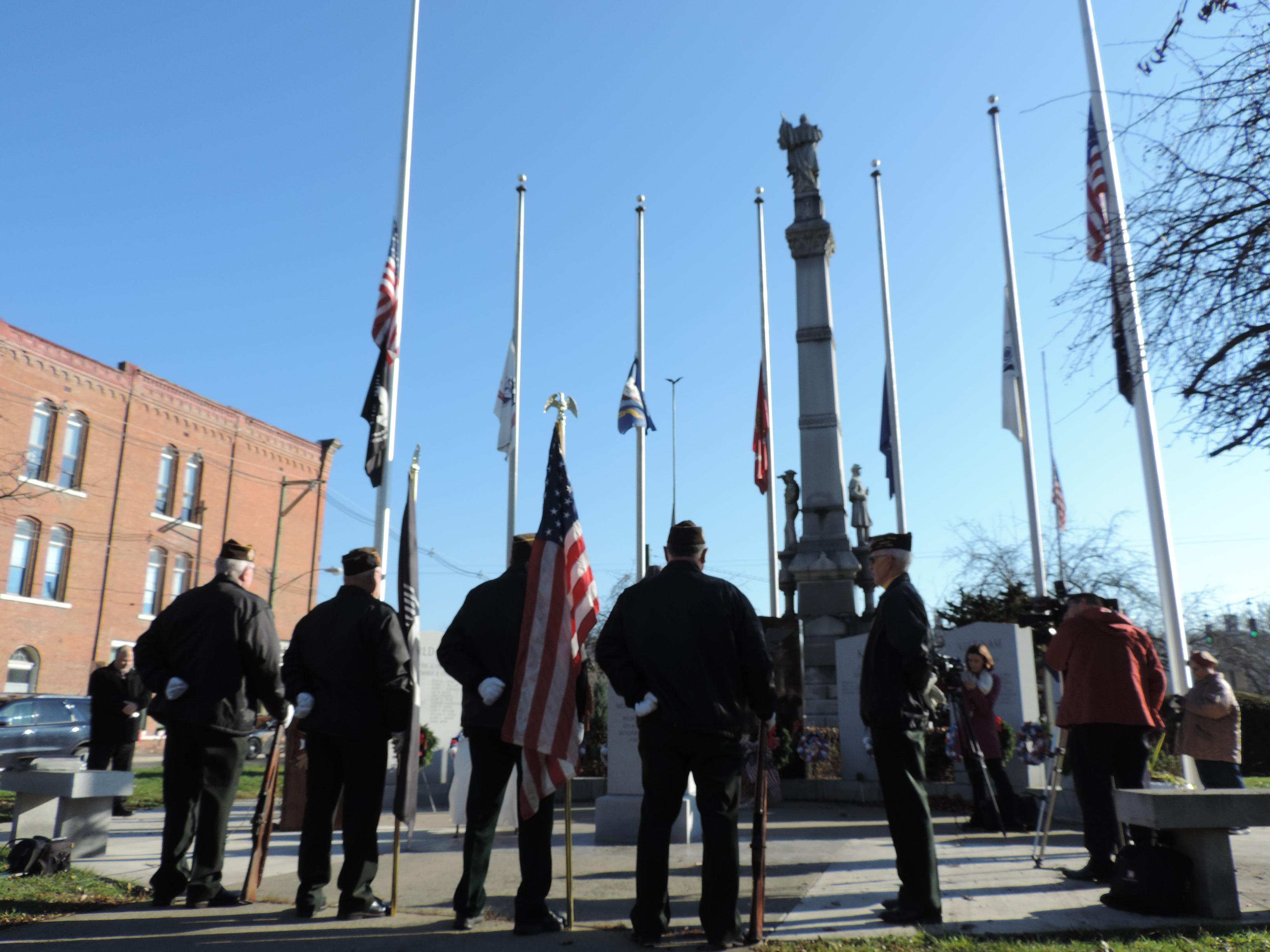 Pearl Harbor survivors and those who served are honored in Owego