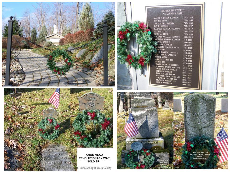 Wreaths to honor veterans