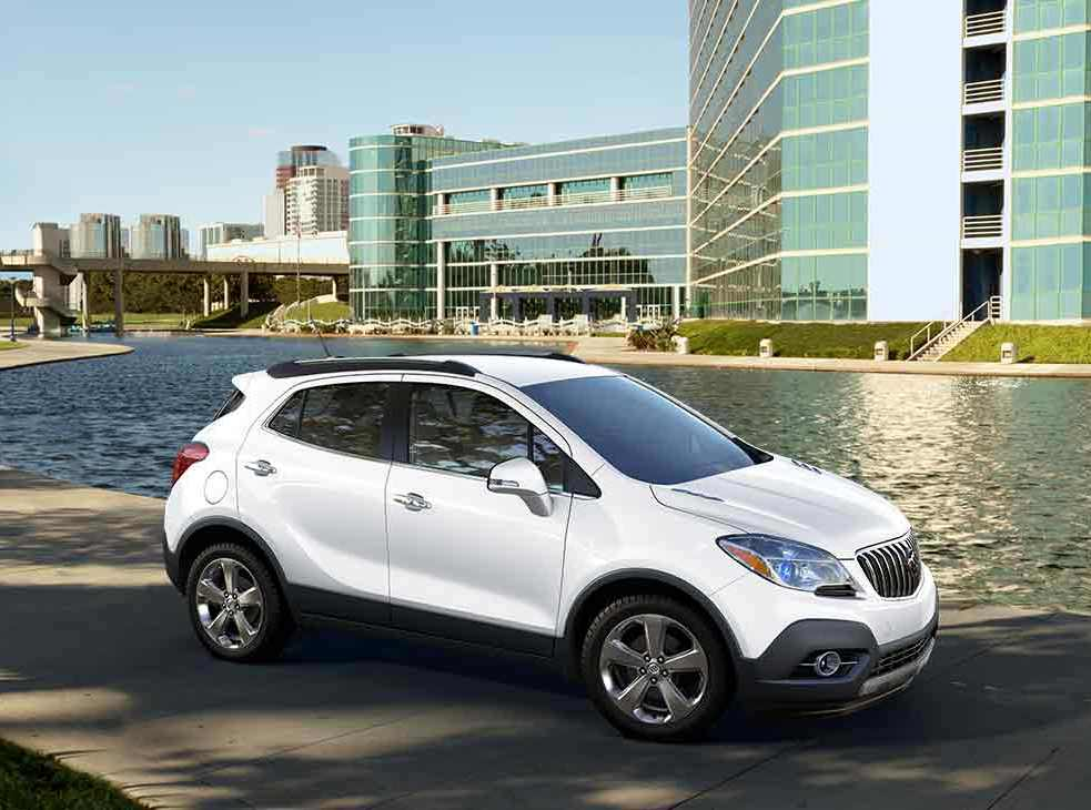 Test Drive 2016 Buick Encore Sport Touring Awd