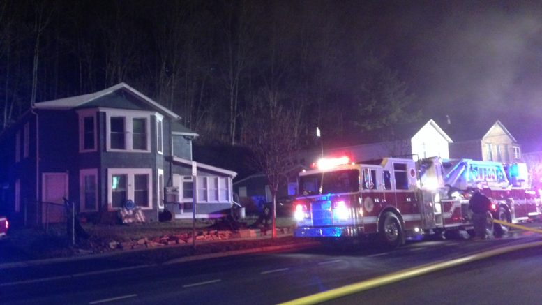 North Avenue fire in Owego leads to congested traffic patterns