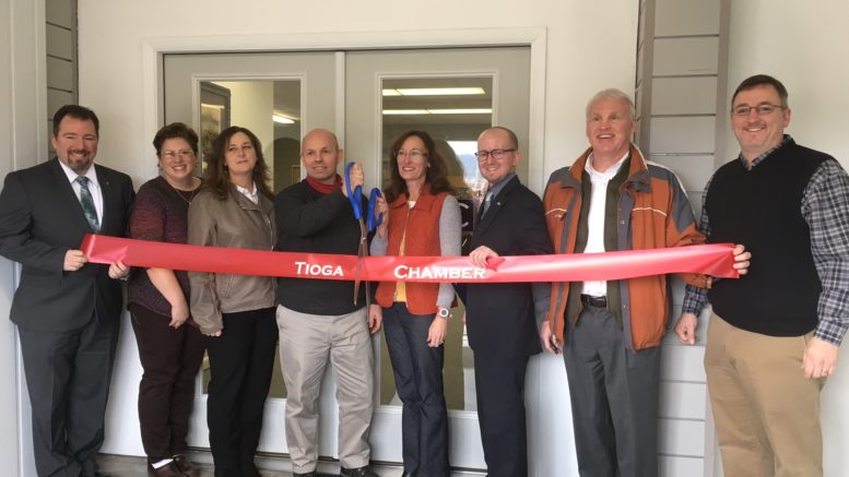 Ribbon Cutting held at TRC Industrial in Nichols