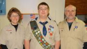 Dylan Fredenburg earns the rank of Eagle Scout