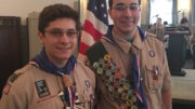 Two OFA students achieve Eagle Scout rank
