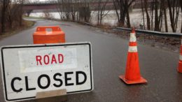 Flood Warning in effect; Hickories Park closed