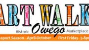 Creativity is in bloom at Owego's First Friday Art Walk