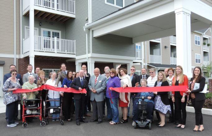 Ribbon cutting celebrates opening of Owego Gardens apartments