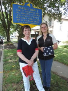 WWII historic marker recovered in Owego