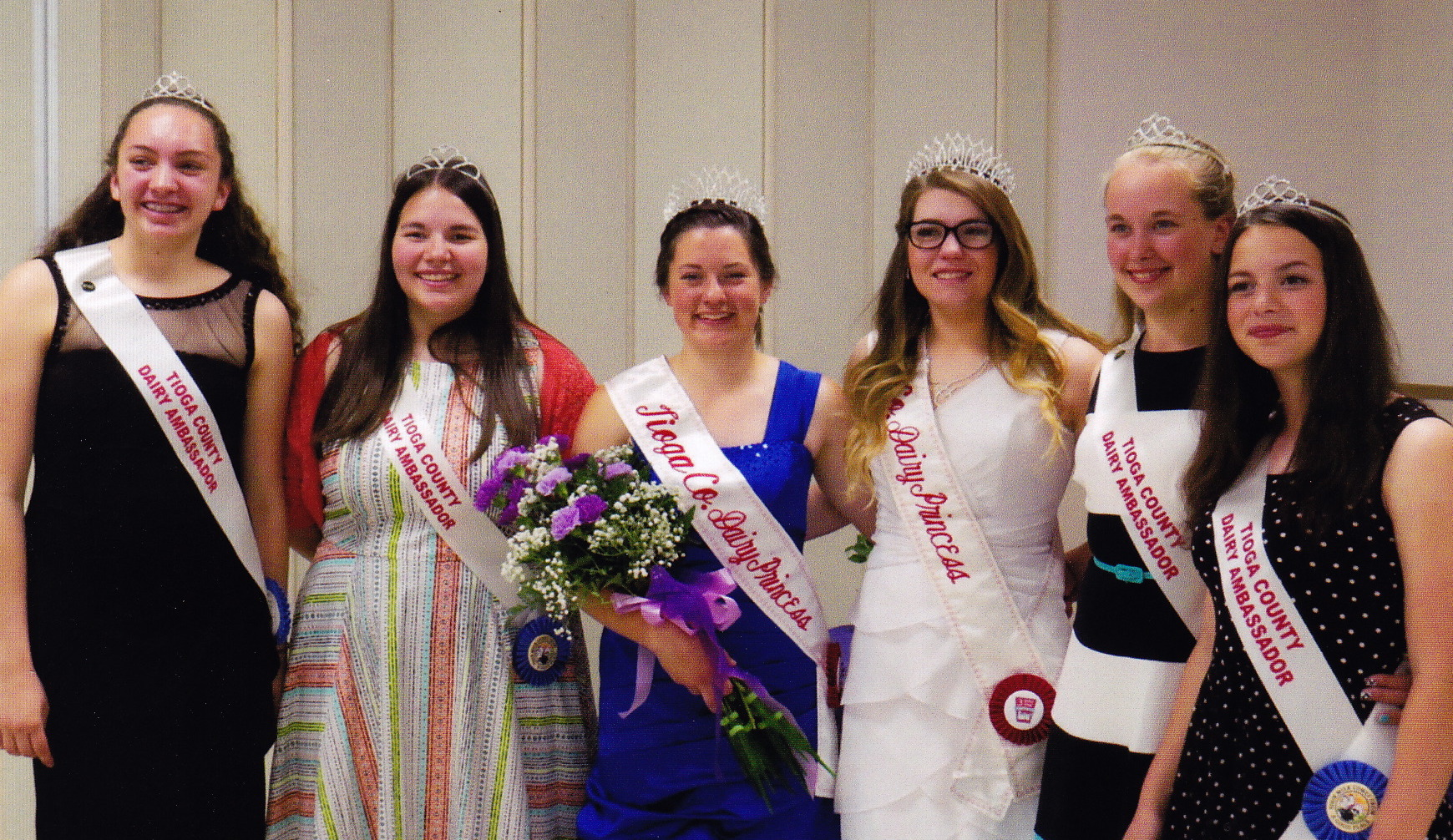 Dairy princess crowned in tioga county owego pennysaver for Emily addison nyc