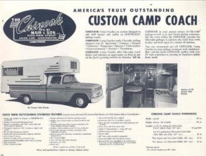 Collector Car Corner - 1965 Chevy Pickup with slide-in camper memories