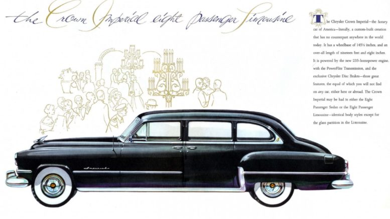 Collector Car Corner - Reader remembers 'Uncle Emil's' 1954 Chrysler Imperial