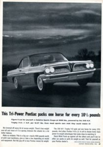 Collector Car Corner - Reader wants info on 1961 Pontiac Catalina models