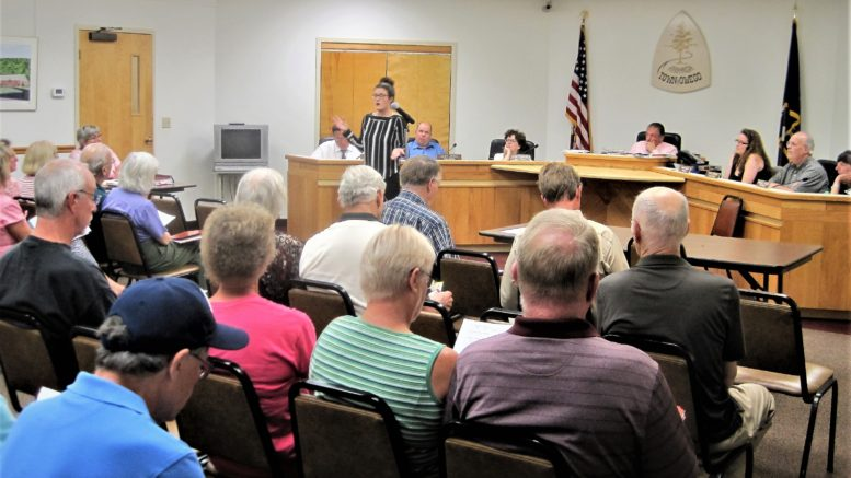 Town of Owego holds public hearing for local law regarding MEGA