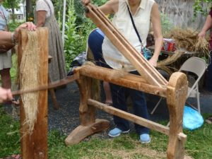 Linen Day: Flax Processing at the Home Textile Tool Museum