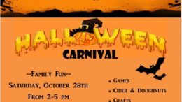 Halloween Carnival taking place at Waterman Conservation Education Center