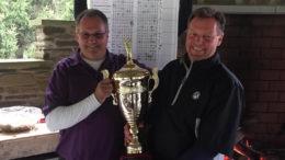 2017 Ryder Cup Golf trophy presented