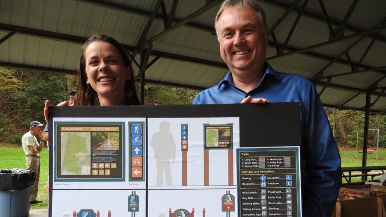 'Master Plan' unveiled for Waverly Glen Park
