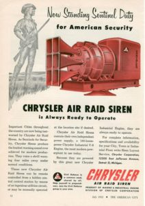 Collector Car Corner - More on the World War II years, the new '49 Dodge and the Hemi Air Raid Sirens