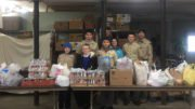 Scouts collect for local pantry