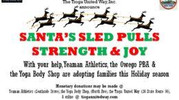 Santa's Sled pulls strength and joy