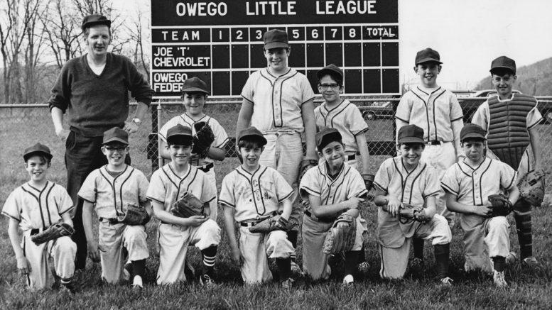 Owego Federal Savings and Loan Little League Team, circa 1971