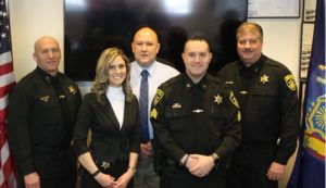 Sheriff Howard announces promotions