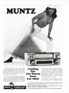 Collector car Corner - Earl 'Madman' Muntz, his Muntz Jet and 4-Track Tape Player