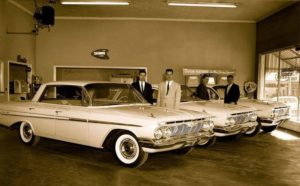 Collector Car Corner - New car shopping with our dads in the early 1960s