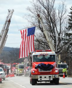 'Firefighter Denny', remembered