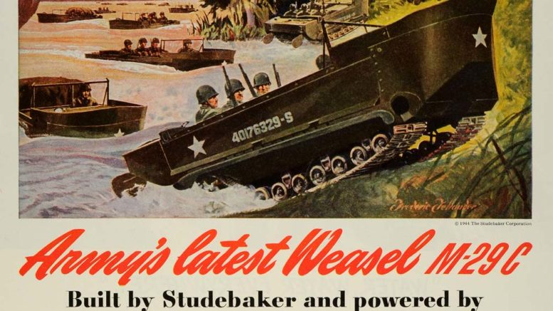 Collector Car Corner - Wartime with the Studebaker Weasel and Henry Kaiser