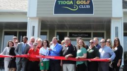 Chamber christens the Tioga Golf Club's new clubhouse