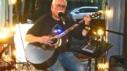 Greg Neff at Owego's First Friday event