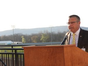Harness Racing kicked off at Tioga Downs on Saturday