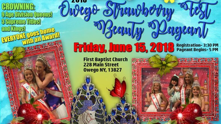Angel Face Pageants to hold annual Strawberry Festival Pageant on Friday