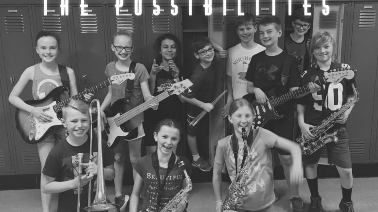 The Possibilities set to perform on the Courthouse Stage on June 15