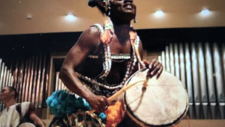 Owego Music Boosters sponsor African Drum Workshop with master teacher from Ghana, West Africa
