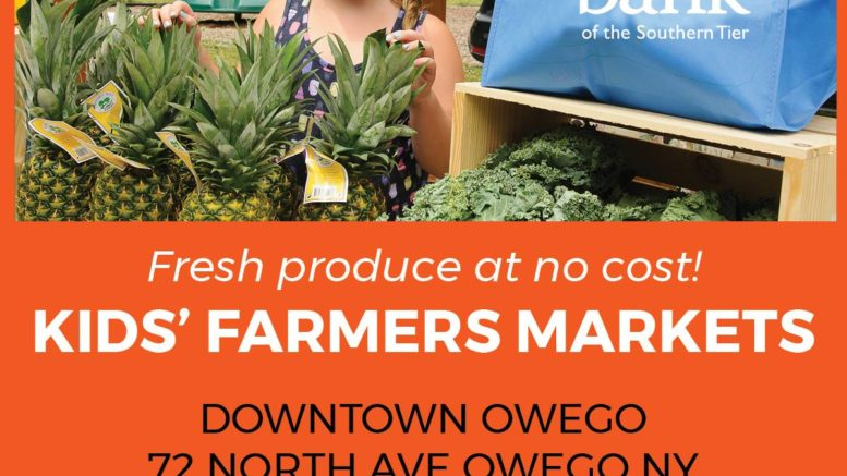 Farm Market for Kids at the Owego FRC