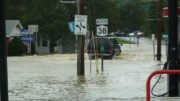 Flash flooding hits Newark Valley on Saturday