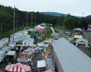 Demolition Derby and more at the Tioga County Fair