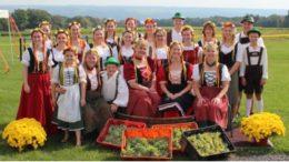 German Festival at Lucas Vineyards in The Finger Lakes