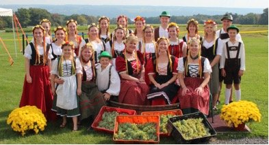 German Festival at Lucas Vineyards in The Finger Lakes
