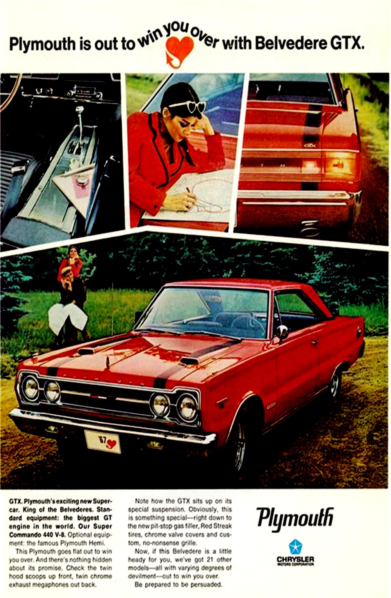 Collector Car Corner 1967 Gtx Muscle Car Memories Roadrunners