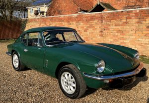 Collector Car Corner - Triumph sports cars, on and off the racetrack