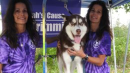 Sarah's Cause for Paws; carrying out a young girl's wishes