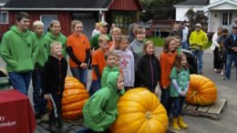 Another successful year for the 4-H Giant Pumpkin Club