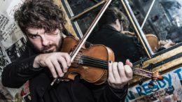 Italian pop violinist Andrea Di Cesare returns to Original's Bar and Lounge
