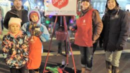 Ringing the Salvation Army bell makes a difference; more help needed