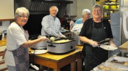 Sayre Salvation Army feeds 120 at annual Thanksgiving Dinner