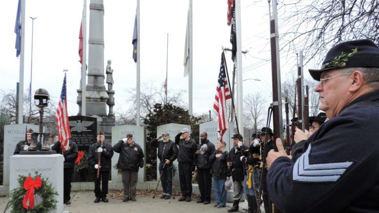 Christmas Wreaths honor veterans